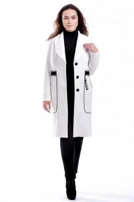 Пальто Nat Max ШПТ-0127-38 белый