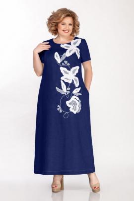Платье GALEREJA 610 синий
