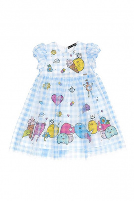 Платье Bell Bimbo 200205 клетка