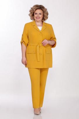 Женский костюм Tellura-L 1491-2 горчица