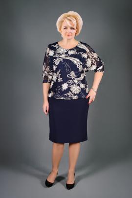 Платье Manklover 801 синий