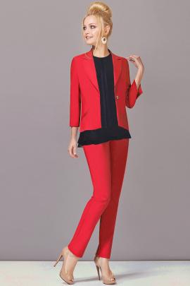 Женский костюм Lady Secret 2393 красный+черный