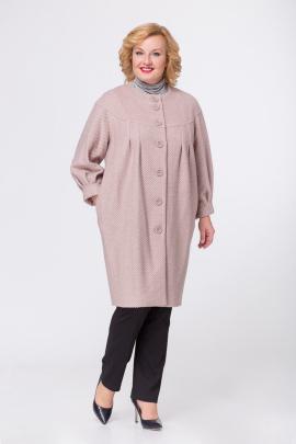 Пальто Медея и К 1694 розовый