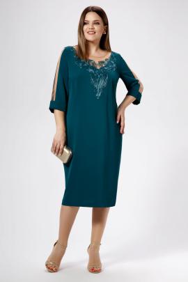 Платье Панда 469880 зеленый