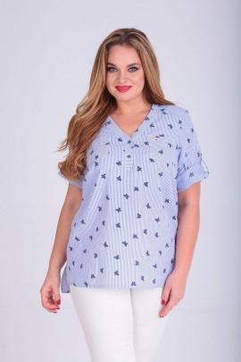 Блуза SOVITA M-610 синий