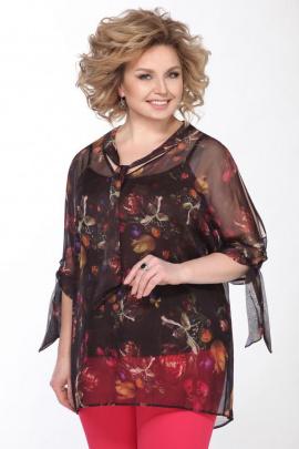 Блуза, Топ Matini 1.1312 тюльпаны