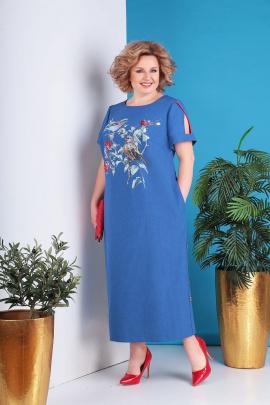 Платье Grace for you 198 синий