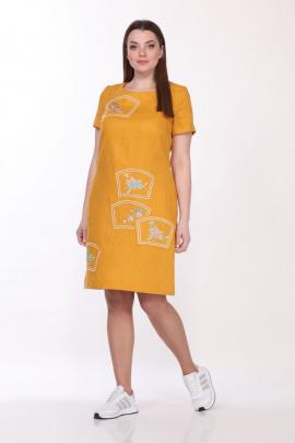 Платье GALEREJA 612 желтый