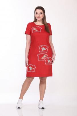 Платье GALEREJA 612 красный