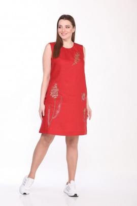 Платье GALEREJA 614 красный