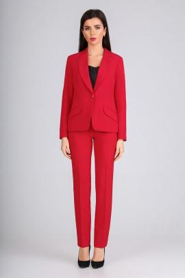 Женский костюм IVARI 12105 красный