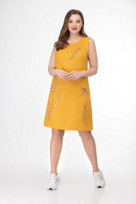 Платье GALEREJA 614 желтый