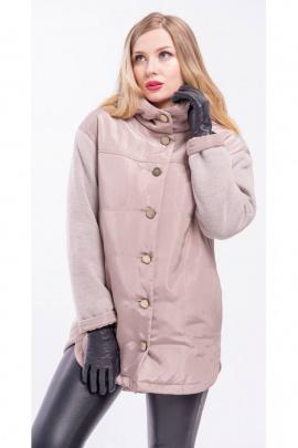Пальто Arisha 8079 бежевый