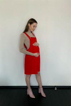 Платье BELAN textile 4214 красный