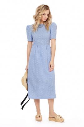 Платье PiRS 1017 голубой