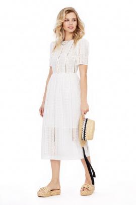 Платье PiRS 1017 белый