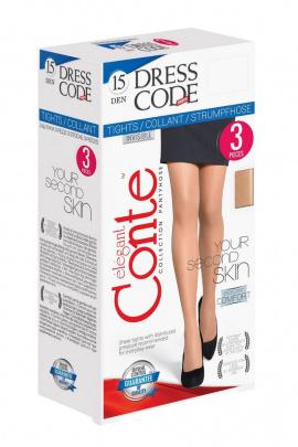 Колготки Conte Elegant Dress_Code_15(3 штуки)_nero