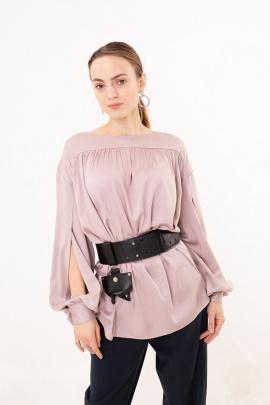 Блуза Individual design 19144 пудра