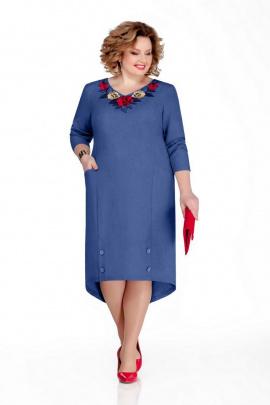 Платье Pretty 1052 синий