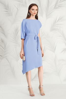 Платье Nelva 5790 голубой