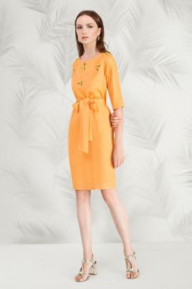 Платье Nelva 5824 оранжевый