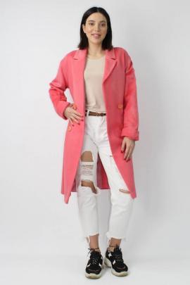 Пальто VLADOR 500512 розовый