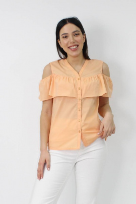 Блуза VLADOR 500621-1 персиковый