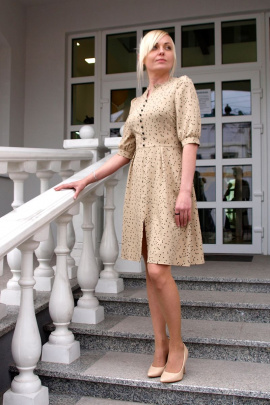 Платье YFS 6128 беж