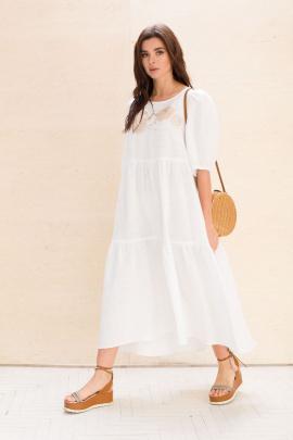Платье Faufilure С1057 белый
