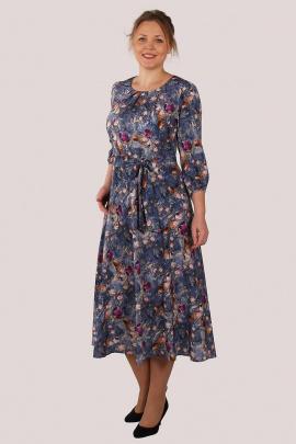 Платье Zlata 4193 синий