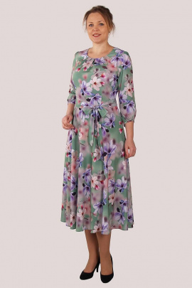 Платье Zlata 4193 бирюзовый