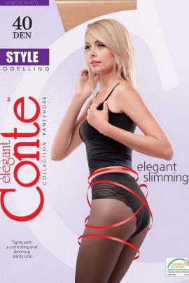 Колготки Conte Elegant Style_40_Mocca