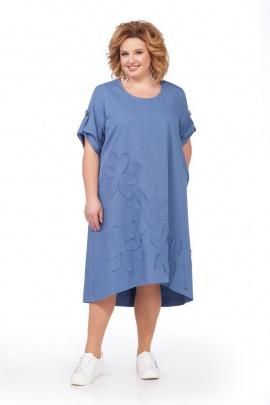 Платье Pretty 674 голубой
