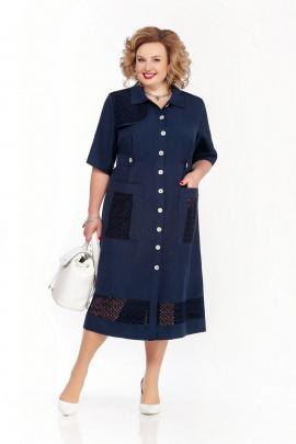 Платье Pretty 1072 темно-синий