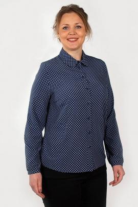 Блуза Zlata 4287 синий