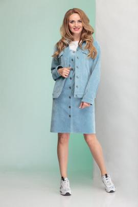 Куртка Angelina & Сompany 341 голубой