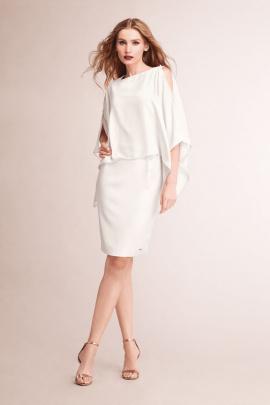 Платье Nelva 5701 молочный