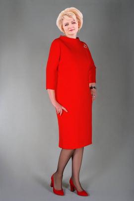 Платье Manklover 651 красный