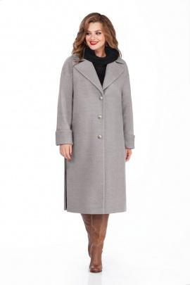 Пальто TEZA 246 серый