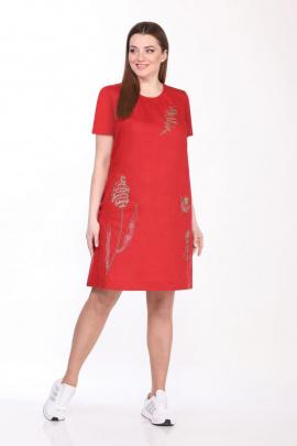 Платье GALEREJA 615 красный