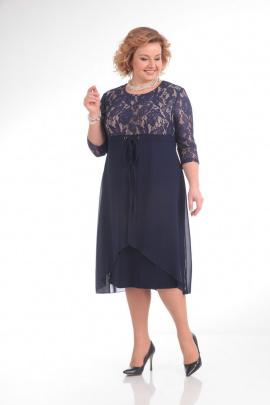 Платье Pretty 645 т.синий