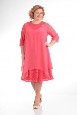 Платье Pretty 646 коралл