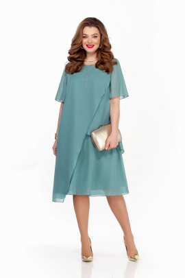 Платье TEZA 1241 голубой