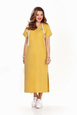 Платье TEZA 1244 желтый
