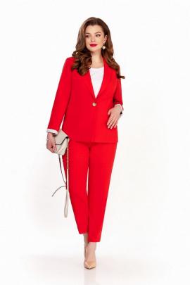 Женский костюм TEZA 1342 красный