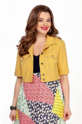 Куртка TEZA 1343 желтый