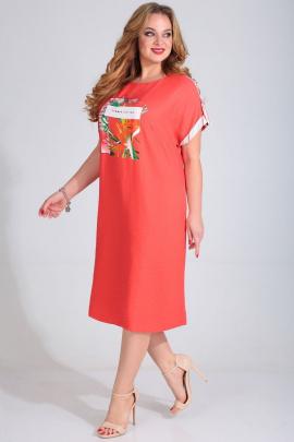 Платье Golden Valley 4682 коралл