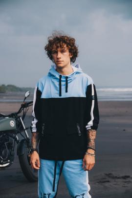 Худи Rawwwr clothing 153 голубой