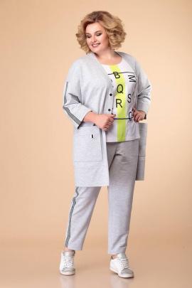 Кардиган, Брюки, Майка Romanovich Style 3-2004 серый