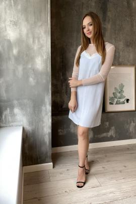 Платье, Накидка PUR PUR 600 св.голубой